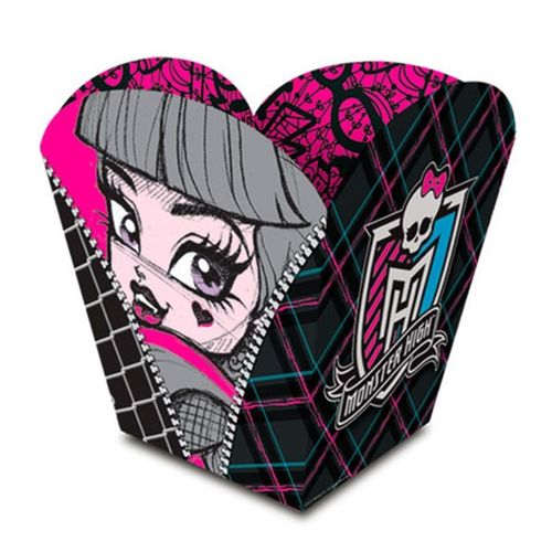Cachepot Monster High Teen 08 unidades Regina Festas