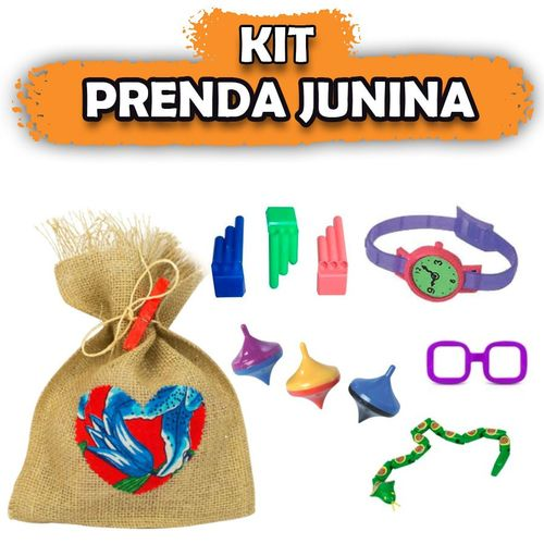Kit Prenda Junina 20 Kits
