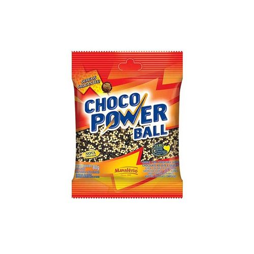 Mini Cereais Choco Power Ball 80g