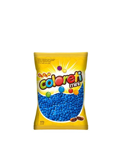 Confeito Coloreti Mini 500g