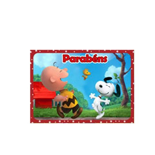 Papel de Arroz Decorativo Snoopy
