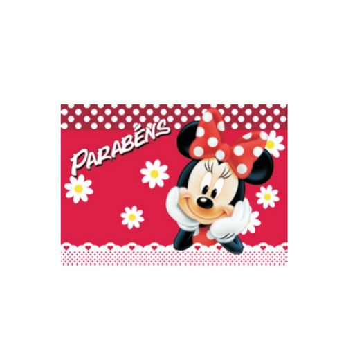 Papel de Arroz Decorativo Minnie