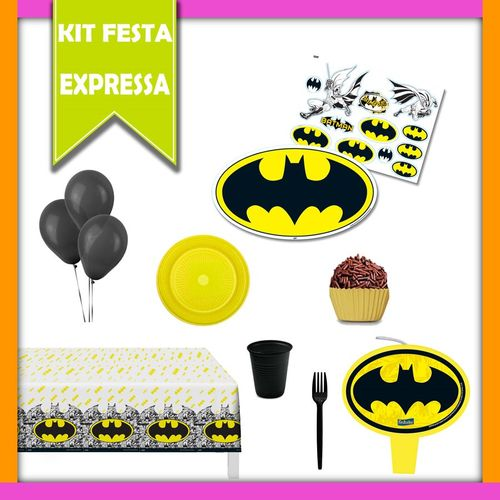 Kit Festa Expressa Batman