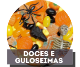 Doces e Travessuras halloween