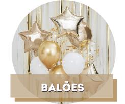 Balões de Reveillon
